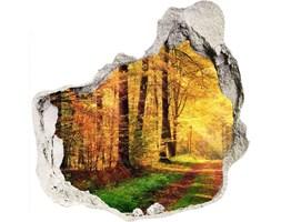 naklejka fototapeta 3D widok Las jesienią