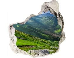 Samoprzylepna dziura na ścianę Świt w górach