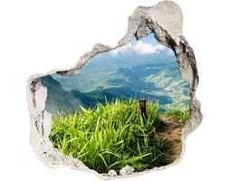 naklejka fototapeta 3D na ścianę Szlak na szczycie