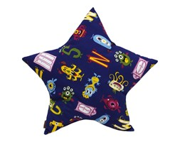 Poduszka kształt STAR Gwiazda Funny Fredo 50x50 cm.
