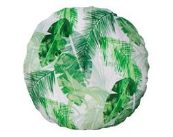 Poduszka round  Zielone liście bananowca 50 cm