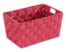 Koszyk ADRIA RED - pojemnik do przechowywania, rozmiar S, WENKO