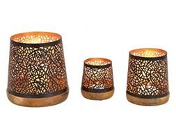 Home Decor - Zestaw 3 świeczników
