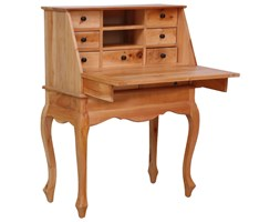 vidaXL Sekretarzyk, 78 x 42 x 103 cm, lite drewno mahoniowe