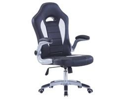 vidaXL Fotel dla gracza, czarny, sztuczna skóra