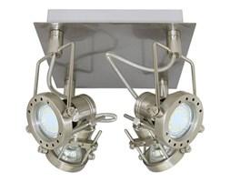 Lampa spot robot kwadrat OPTIMUS 4 chrom 21x21cm