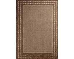 Dywan Scandigel sznurkowy podgumowany brązowy