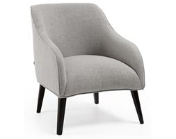 Fotel Lobby 65x80 cm szary nogi czarne