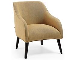 Fotel Lobby 65x80 cm musztardowy nogi czarne