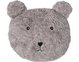 Poduszka dekoracyjna Teddy Bear 33x30 cm jasnobrązowa