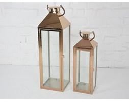 KOMPLET LATARNI METALOWYCH LAMPA SHABBY 3SZT