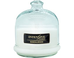 INTENSIVE COLLECTION 100% Soy Wax Premium Candle B2 Jar świeca zapachowa w szkle z kloszem 100% wosk sojowy - Sandalwood
