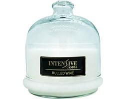 INTENSIVE COLLECTION 100% Soy Wax Premium Candle B2 Jar świeca zapachowa w szkle z kloszem 100% wosk sojowy - Mulled Wine