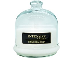 INTENSIVE COLLECTION 100% Soy Wax Premium Candle B2 Jar świeca zapachowa w szkle z kloszem 100% wosk sojowy - Cinnamon Bark