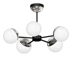 Lampa sufitowa nowoczesna szklana kula żyrandol SFERA V chrom śr. 66cm