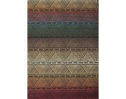 Dywan płasko tkany etno sizalowy kolorowy