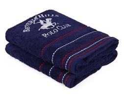 Zestaw 2 ciemnoniebieskich ręczników, 90x50 cm