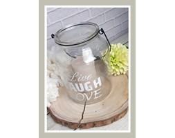 Lampion szklany 21 cm