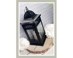 Czarna latarnia 37 cm