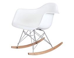 Fotel bujany VILD RAR biały