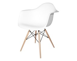 Fotel DAW Biały