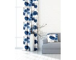 Zasłona Garden Flowers niebieski 140x250