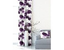 Zasłona Garden Flowers fiolet 140x250