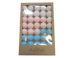 COTTONOVE LOVE COTTON BALLS 35 kul - light pink, white, baby blue WYPRZEDAŻ