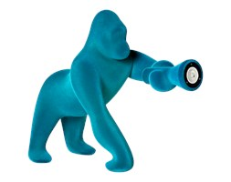 QeeBoo :: Kong VELVET XS niebieski