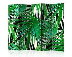 Parawan 5-częściowy - Tropikalne liście [Room Dividers]