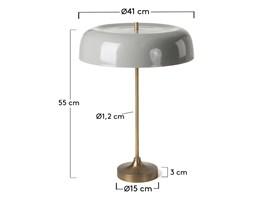Lampa stołowa ATARR szara