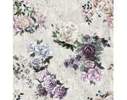 Obrus w kwiaty AZ-158 fiolet 130x450