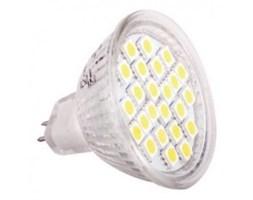 Żarówka LED 24 SMD GU5,3 MR16 3W