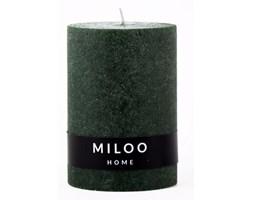 Świeca 10x7 cm Miloo Home Velour zielona kod: ML3090