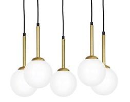 Lampa sufitowa nowoczesna PARMA V złoty śr. 52cm