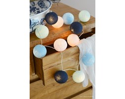 BIG BLUE Cotton Ball Lights PREMIUM