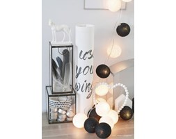 BLACK & WHITE Cotton Ball Lights PREMIUM