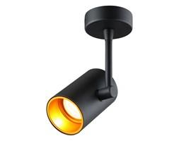 Oryginalny Plafon SPOT LOTUS BL/G Lampa Sufitowa Reflektor Czarna Złoty Środek Oprawa GU10 Oświetlenie Auhilon