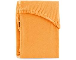 Pomarańczowe elastyczne prześcieradło dwuosobowe AmeliaHome Ruby Orange, 220-240x220 cm