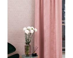 Zasłona Rosa bawełniana różowa 130x270