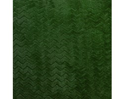 Koc / Narzuta CAPRICE kolor ciemny zielony butelkowy 150x200cm
