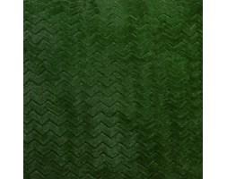 Koc / Narzuta CAPRICE kolor ciemny zielony butelkowy  220x200