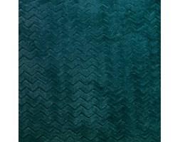 Koc / Narzuta CAPRICE kolor ciemny turkusowy petrol 200x220