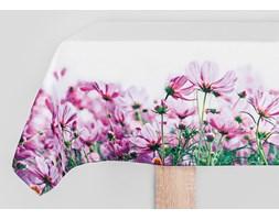 Obrus VIOLA kolor fiolet drukowany 85x85 cm