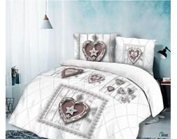 Pościel na Walentynki Hearts 160x200 cm