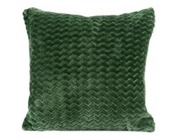 Poszewka CAPRICE kolor ciemny zielony butelkowy 40x40