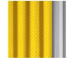 Tanie zasłony szer180cm na metry B01114 żółty 0.5 mb
