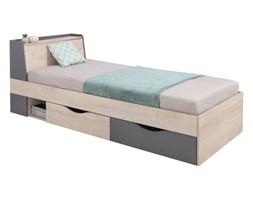 Łóżko DELTA 90 z szufladami z stelażem