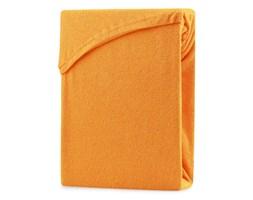 AmeliaHome – Prześcieradło z gumką Frotte Pomarańczowe RUBY - 220-240x220+30 cm