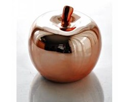 Jabłko ceramiczne miedziane